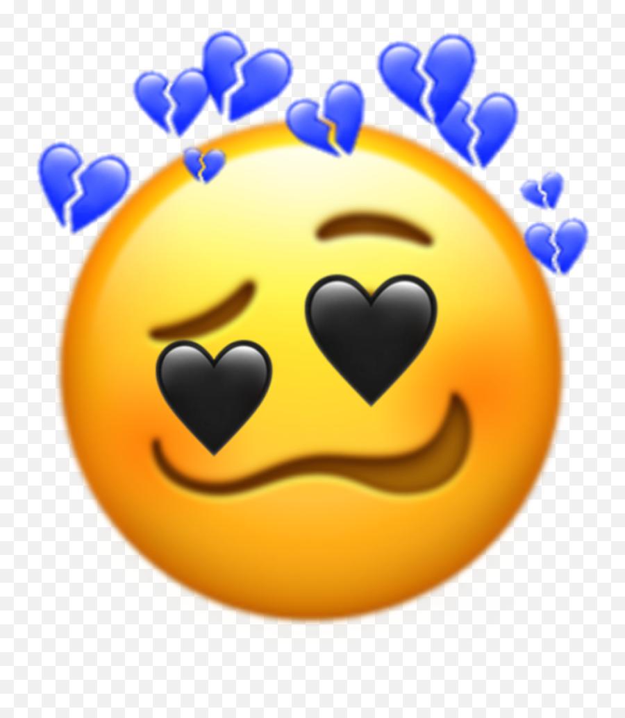 Popular And Trending Emojitriste Stickers On Picsart - Happy,Bipolar Emoji