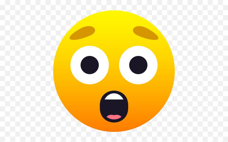 Emoji  Amazed face to copypaste  wpRock - Emoji Astonished
