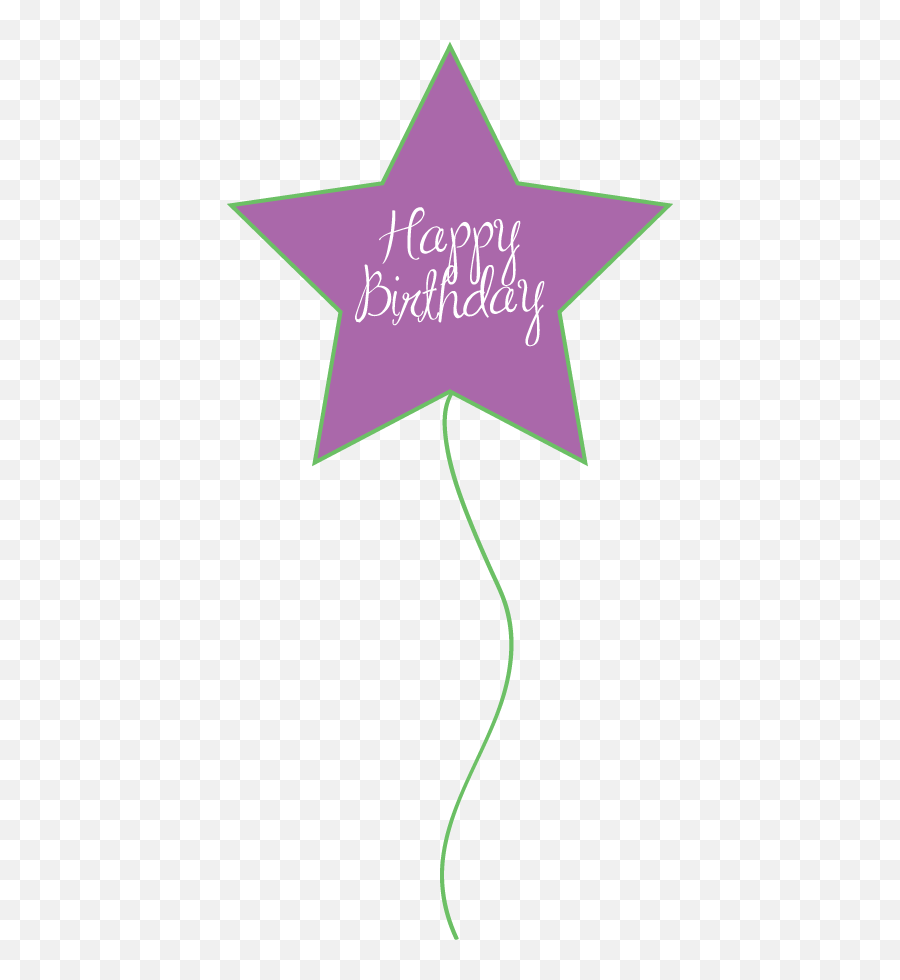 Free Birthday Balloons Clipart For - Balloons Happy Birthday Purple Clip Art Emoji