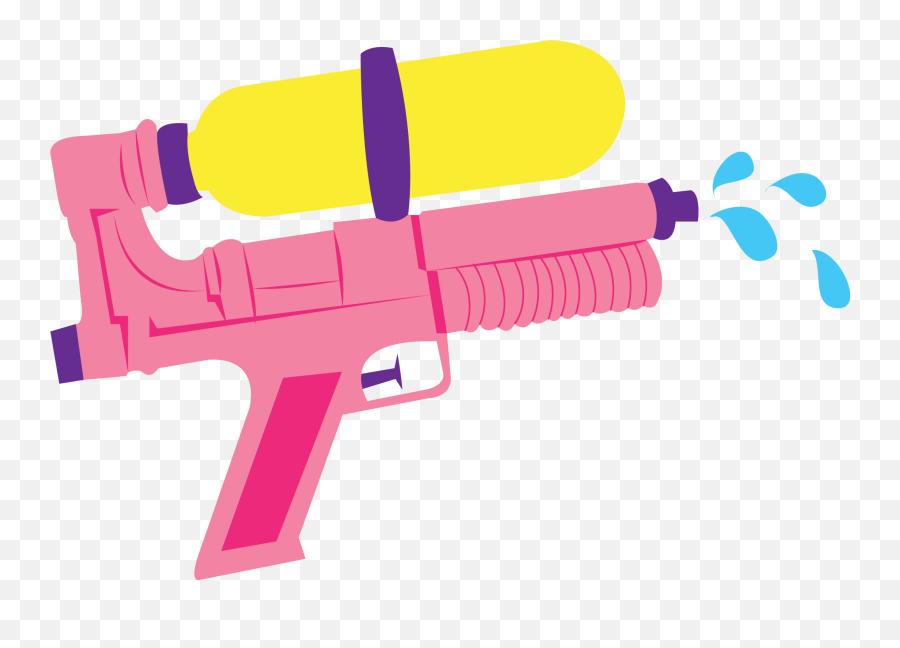 665 Pistol Free Clipart - Water Gun Clipart Emoji