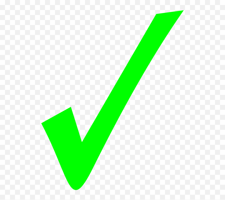 Check Tick Correct - Right And Wrong Symbols Emoji,Green Checkmark Emoji -  free transparent emoji - emojipng.com