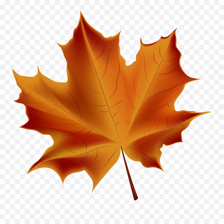 Autumn Leaves Clipart Transparent - Transparent Background Fall Leaf Emoji,Autumn Leaf Emoji