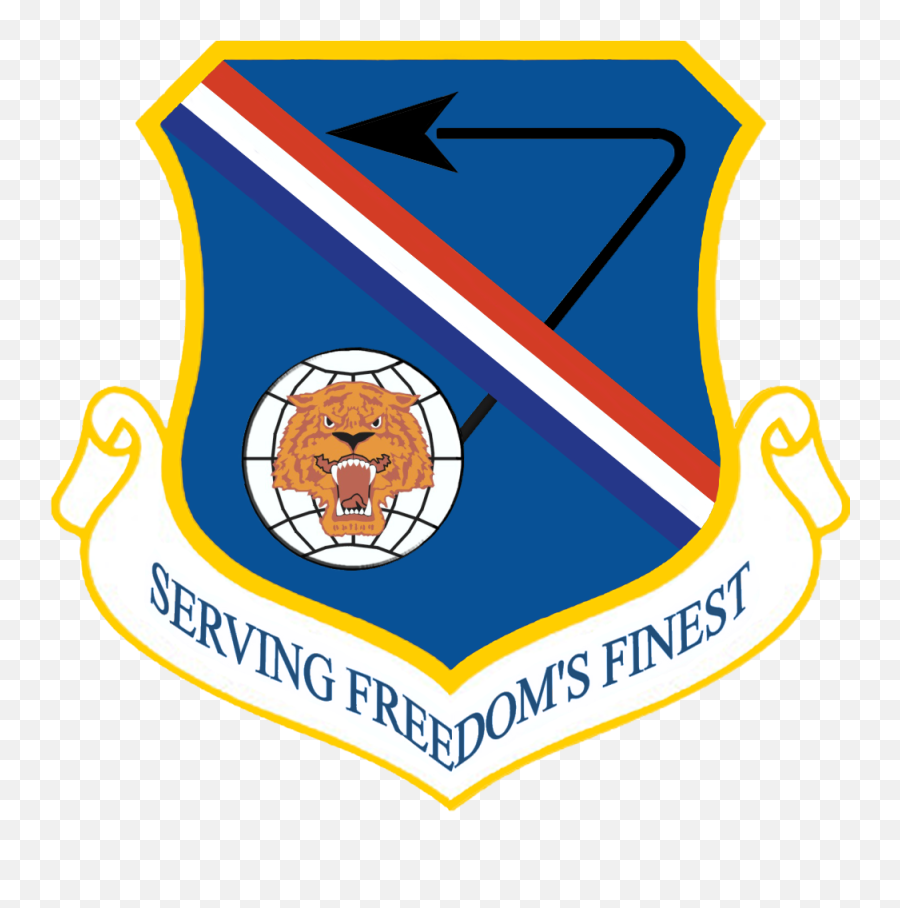 377th Air Base Wing - 7th Air Force Logo Emoji,Tiger Emoji