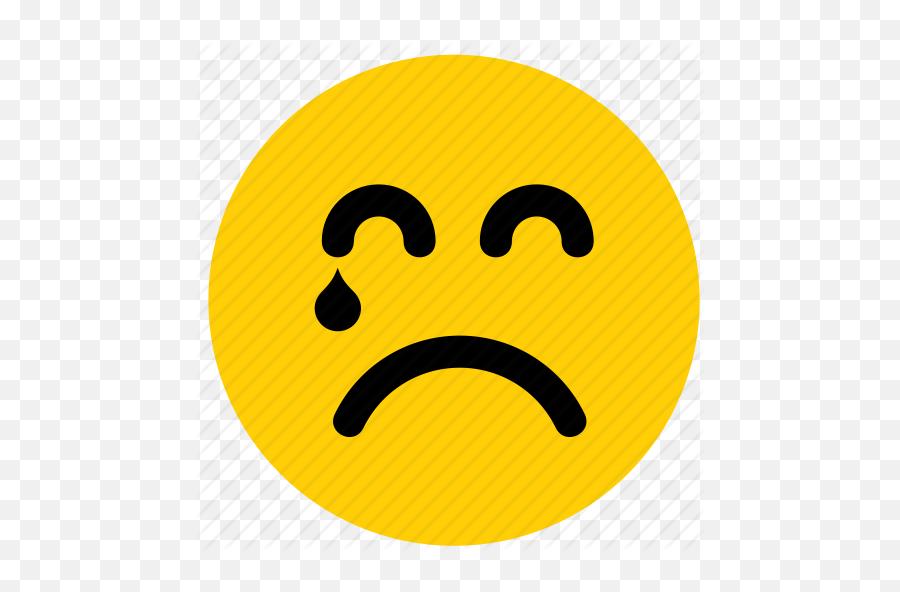 Emojis - Sad Face With Tears Emoji,Crying Emoji