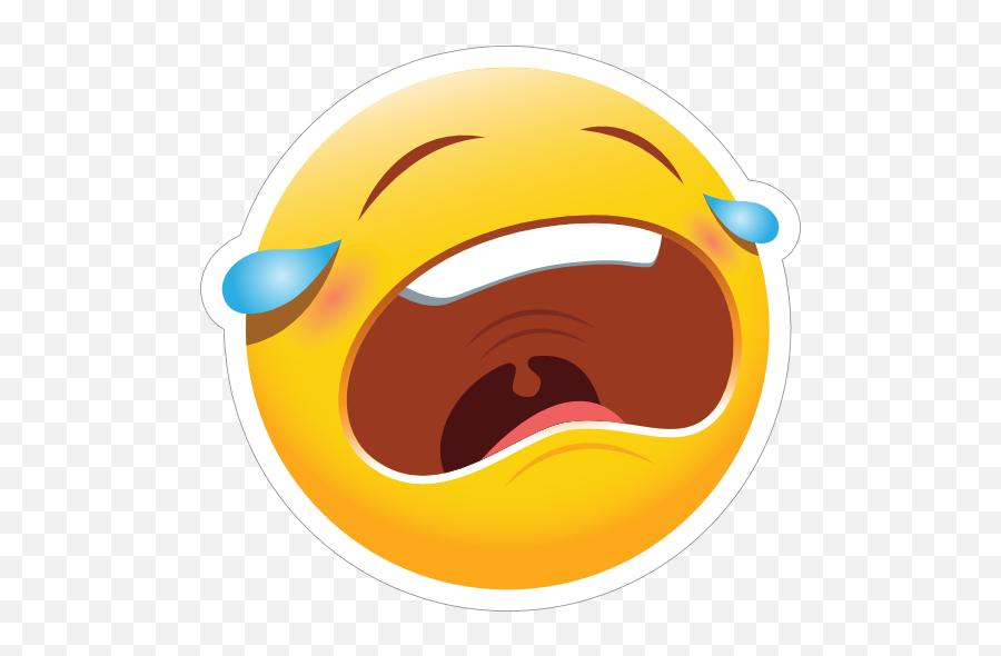 Cute Crying Emoji Sticker - Cute Crying Emoji,Crying Emoji