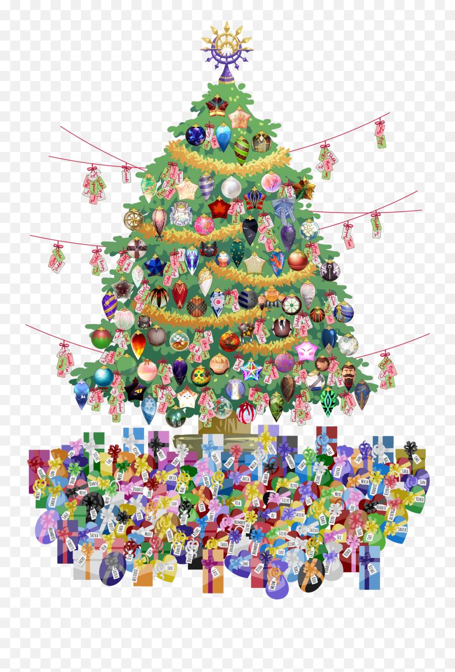Advent Board - Christmas Tree Emoji,Christmas Tree Emoticons