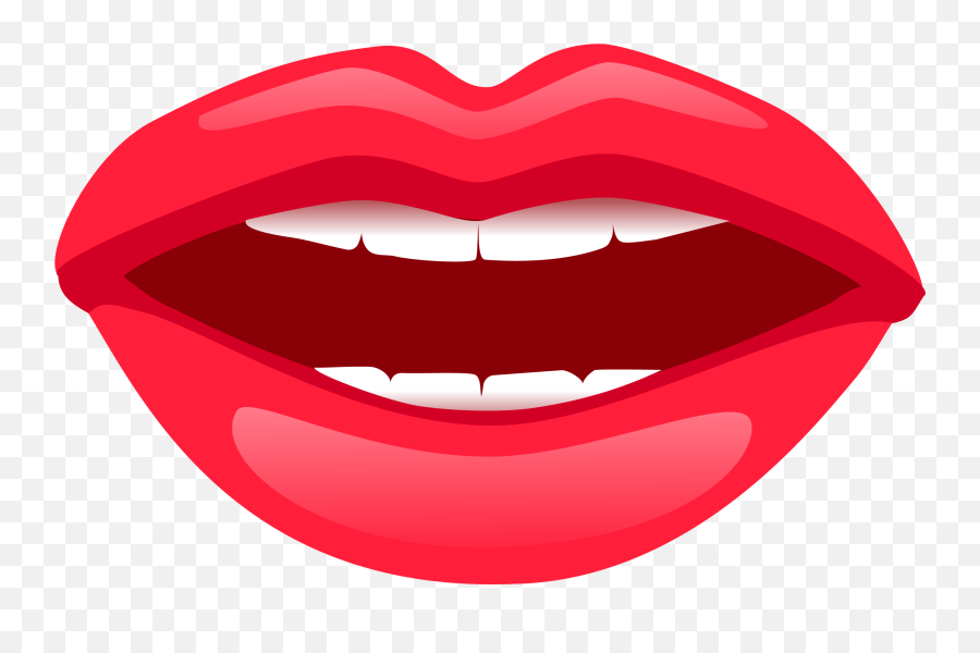 Mouth Clipart Lip Reading Mouth Lip Reading Transparent - Portable Network Graphics Emoji