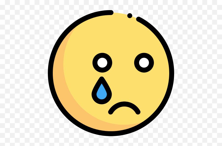 Cry Emoji Png Icon - Flaticon Cry,Cry Emoji Png