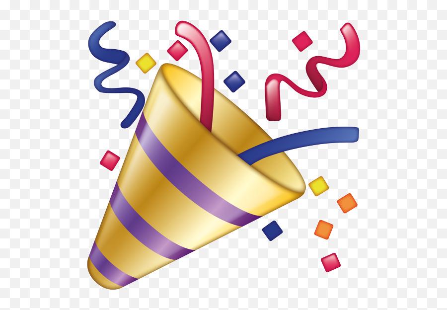 Emoji - Party Popper Emoji Png,Celebration Emoji