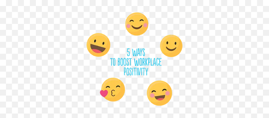 5 Ways To Boost Workplace Positivity - Smiley Emoji