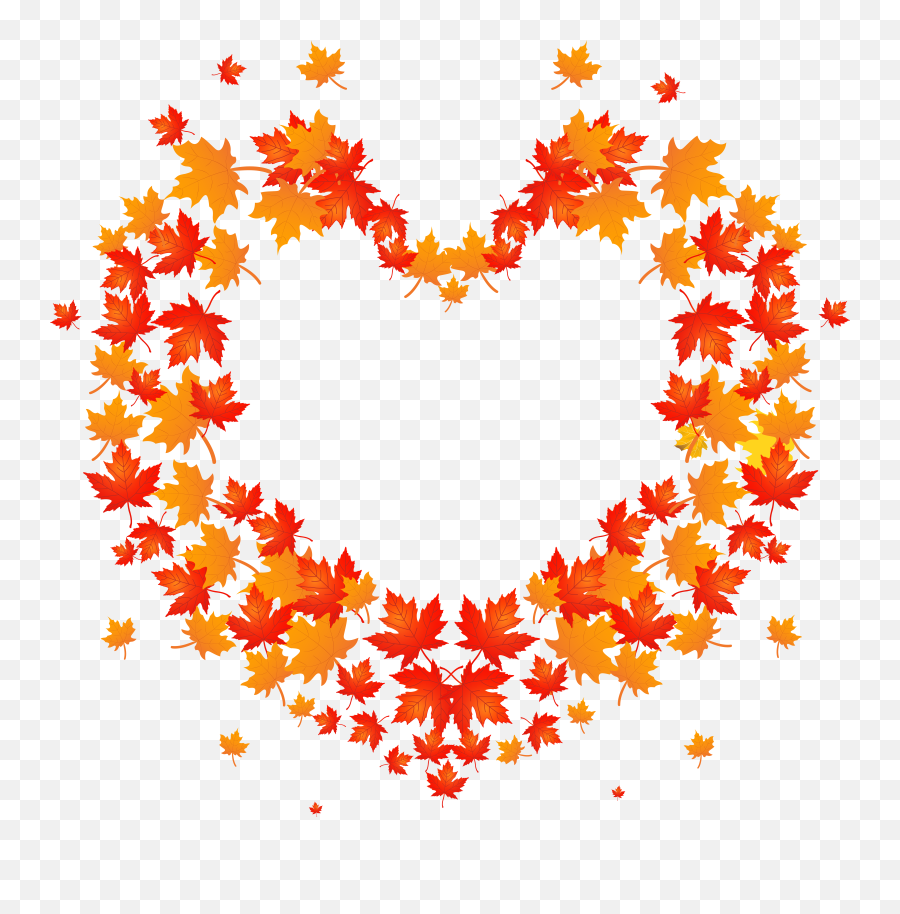 Library Of Heart Leaves Freeuse Png Files Clipart Art Emoji,Autumn Leaf Emoji