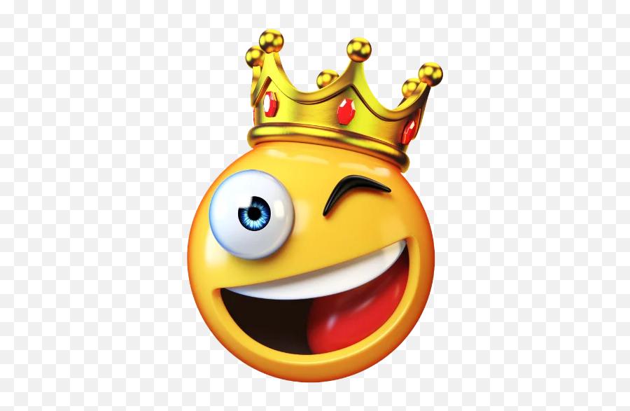 Hd Emoji 2 - King Emoji,Crown Emoticon