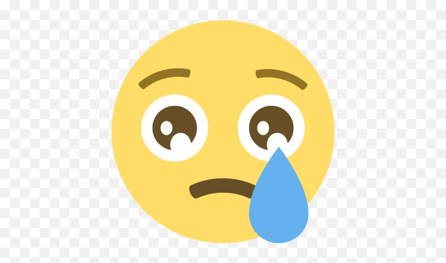 Emojione 1f622 - Cry Emoji Png,Laughing Emoji Meme