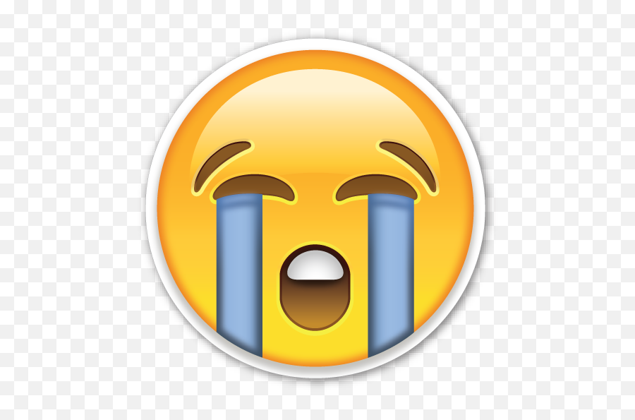 Crying Emoji Png - Emojis De Whatsapp Triste,Crying Emoji