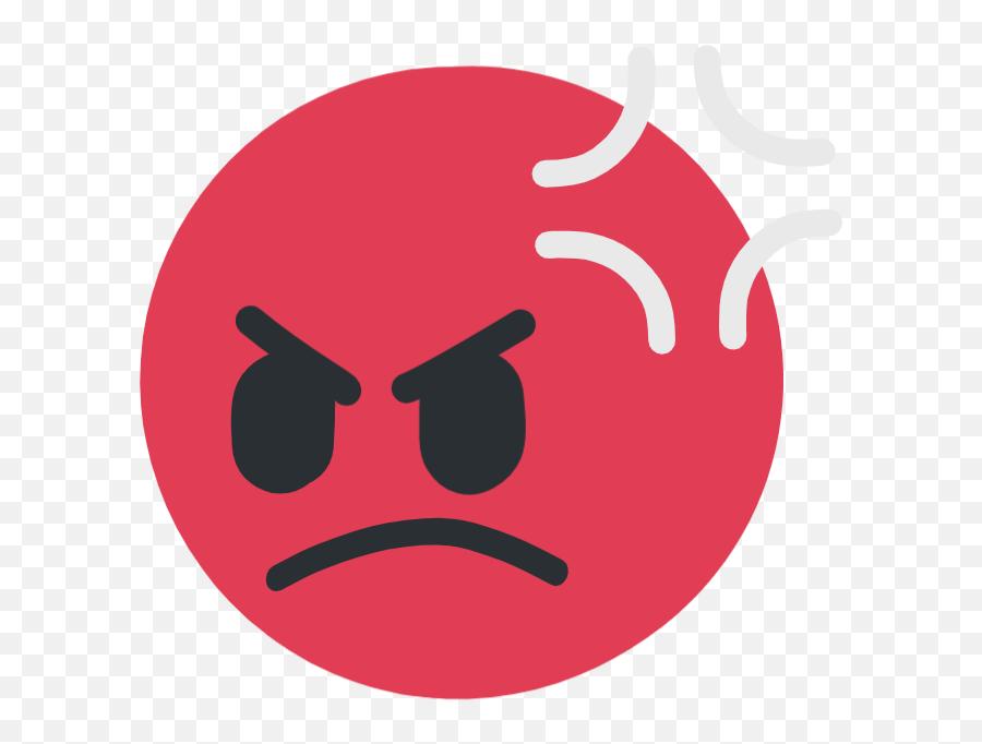 Offended - Rage Emoji Transparent Background