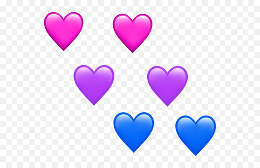 Freetoedit Bisexual Lgbt Lgbtpride Pride Pride2018 June - Heart Emoji