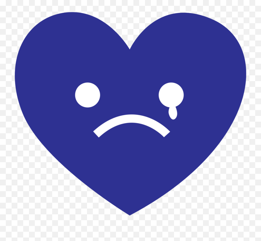Free Heart Emoji Cry Png With Transparent Background - Clip Art,Laugh Cry Emoji Transparent