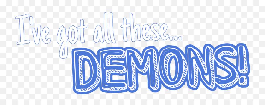 Popular and Trending demons Stickers on PicsArt - Calligraphy Emoji