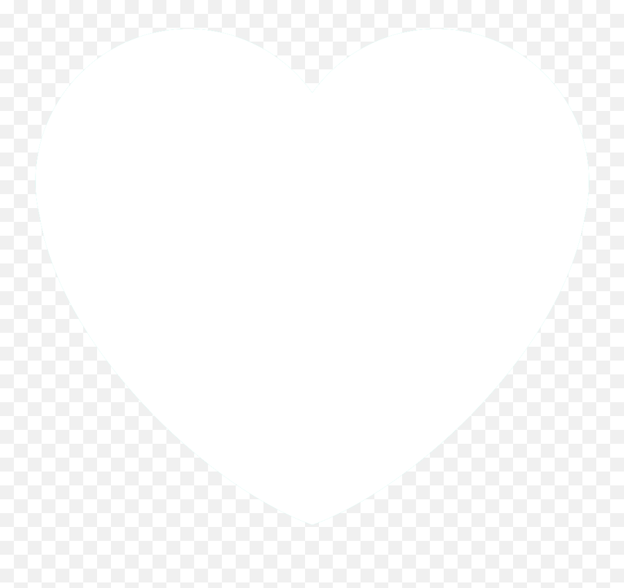 Heart Template I Use For Discord Emotes - Clipart Hearts White Emoji