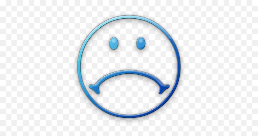 Free Blue Sad Smileys Download Free - Sad Emoticon Black And White Emoji,Blue Emoticons