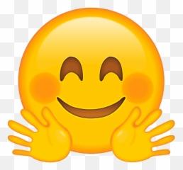 Snapchat smiley mit roten wangen