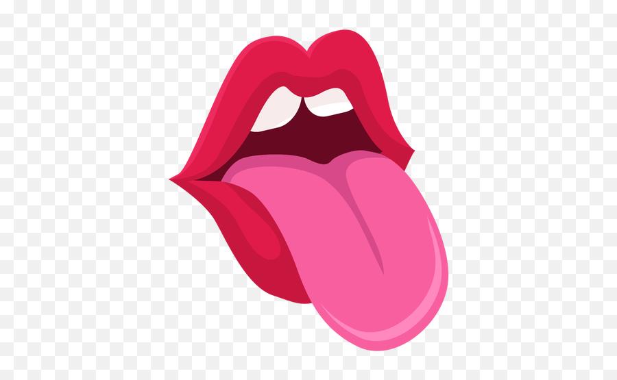 Tongue Out Mouth Icon - Tongue Vector Png Emoji