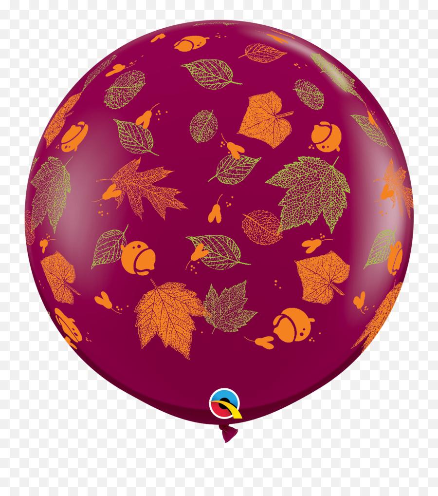 36q Autumn Leaves Print 2 Count - Havinu0027 A Party Wholesale Emoji,Autumn Leaf Emoji