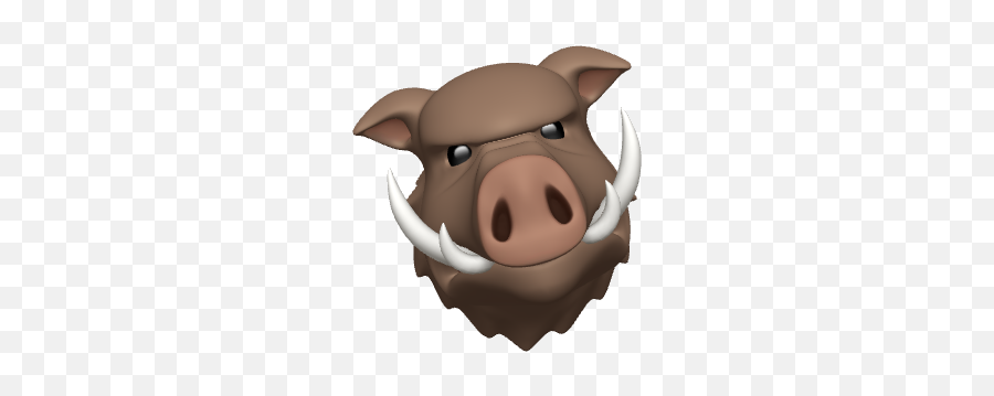 What Is The Difference Between Animoji And Memoji - Domestic Pig,Memoji