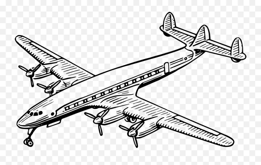 Airplane Images Black And White - Aeroplane Black And White Emoji