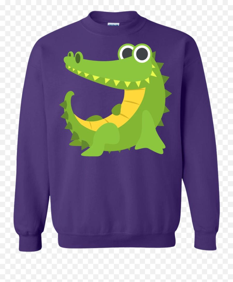 Sexy Crocodile Emoji Sweatshirt - Sweater,Peas Emoji