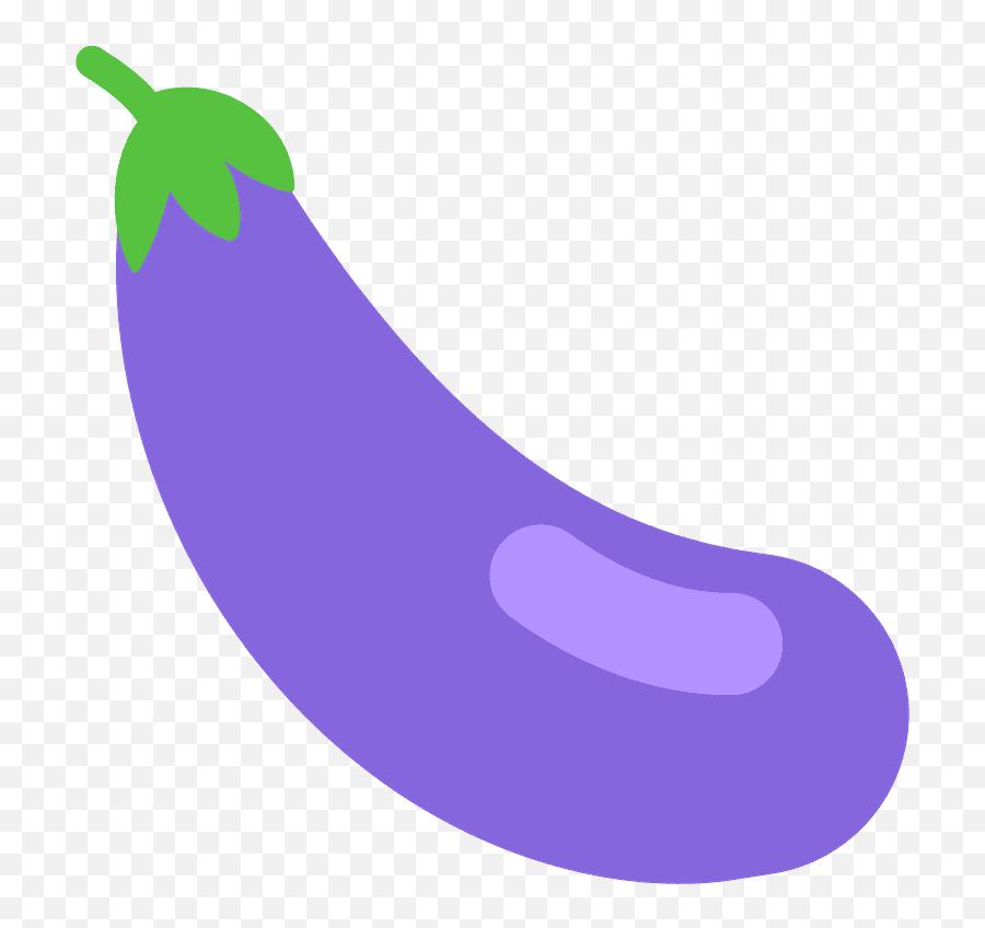 Eggplant Emoji Clipart - Berinjela Emoji