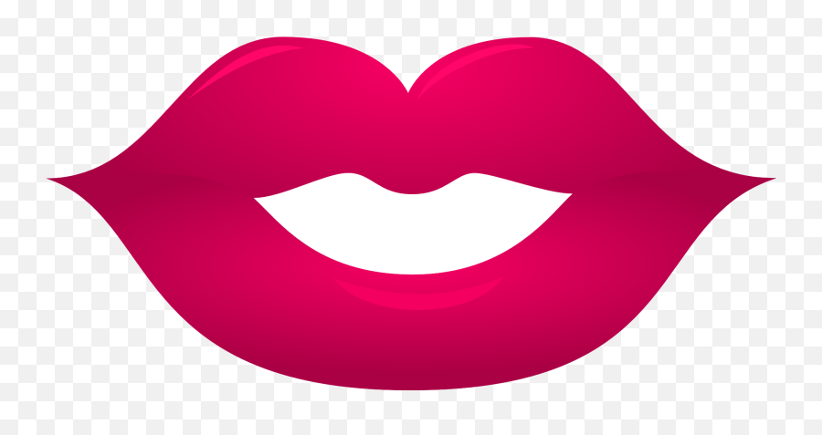 Clipart Of Pouty Lips - Booth Props Printable Lips Emoji
