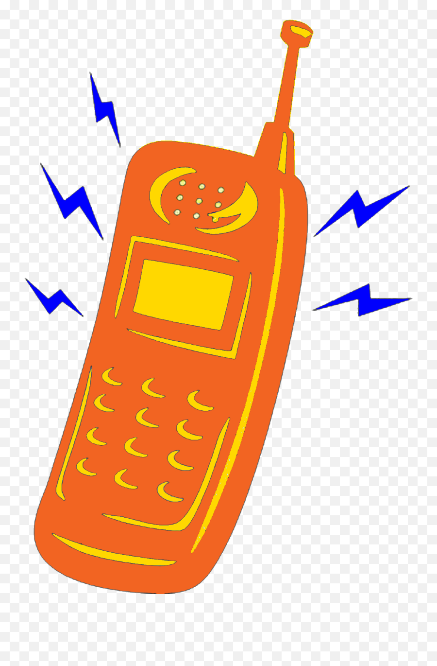 Oranges Clipart Cell Phone Oranges Cell Phone Transparent - Cell Phone Ringing Png Emoji,Cell Phone Emoji