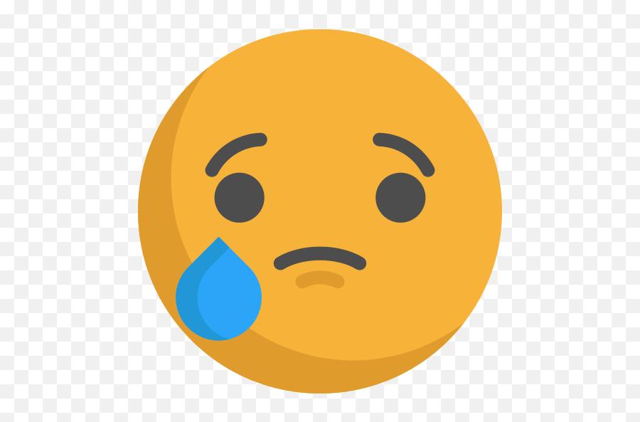 Crying Emoji Png Icon - Crying Emoji Svg,Crying Emoji