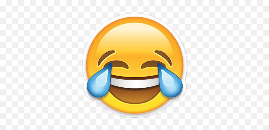 Emoji Tumblr Emoticon Emocion Sticker By Jdhevsjsj - Crying Laughing Face Emoji Png,Emoticon Feliz
