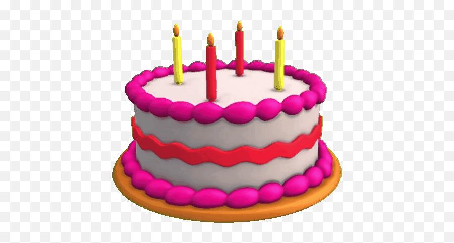 Bday Cake - Transparent Background Birthday Cake Animated Gif Emoji
