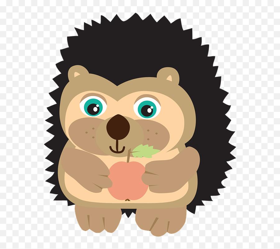 Hedgehog Apple Autumn - Certificate Stamp Emoji,Apple Animated Emojis