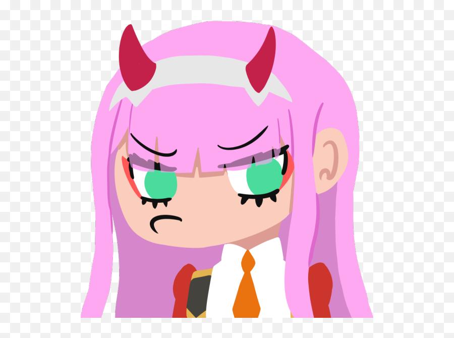 Zero Two Emotes Discord - Zero Two Discord Emotes Emoji