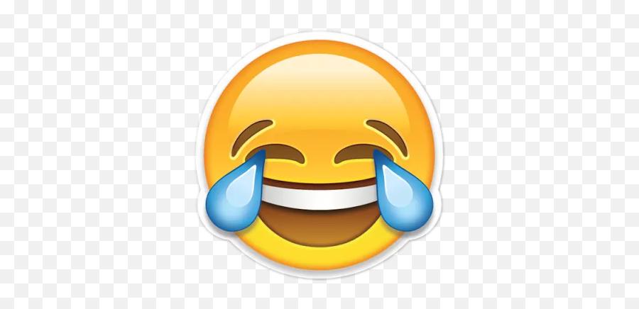 Emoji Tumblr Funny Cute - Laughing Face Emoji Transparent