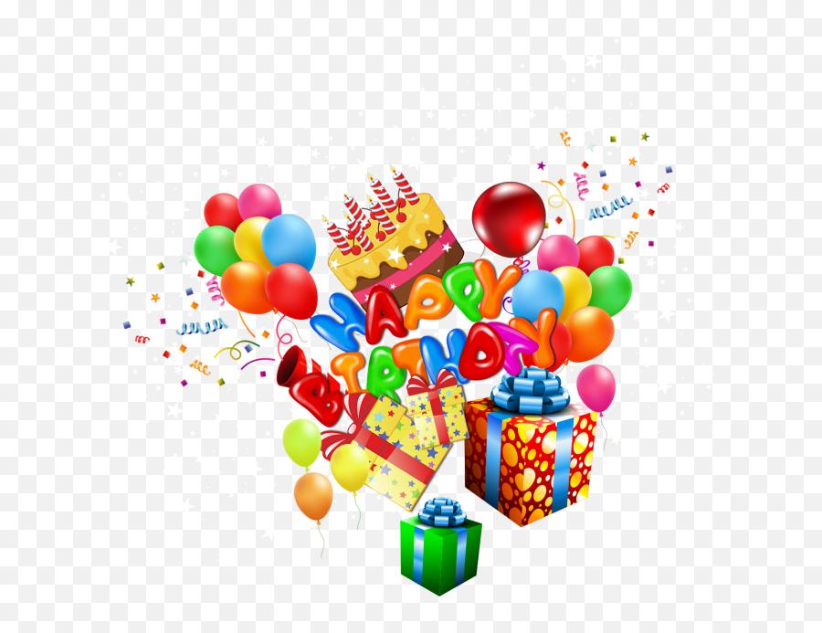 Happy Birthday Clipart Png Images Free - Graphic Design Emoji,Happy Birthday Emoji Text Copy