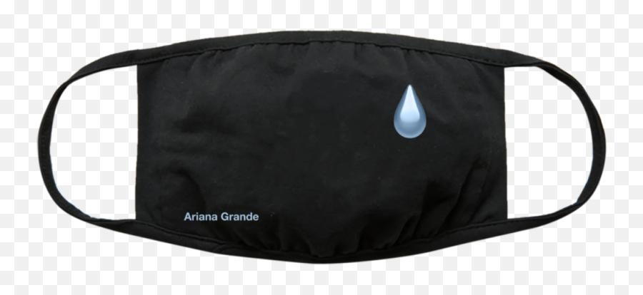 Ariana Grande Tear Drop Face Mask - Frank Sinatra Face Mask Emoji,Tear Drop Emoji