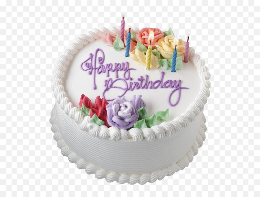 Birthday Cake - Happy Birthday On Cakes Emoji