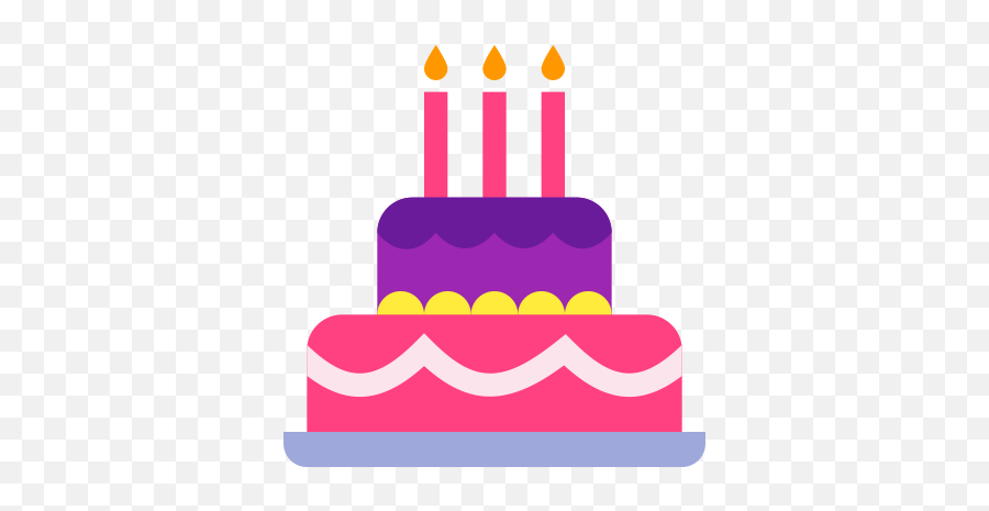 Birthday Cake Icon At Getdrawings - Birthday Cake Icon Png Emoji,Emoji Birthday Cake