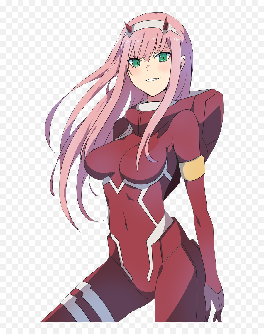 Anime Demon Transparent Png Clipart - Darling In The Franxx Zero Two Emoji