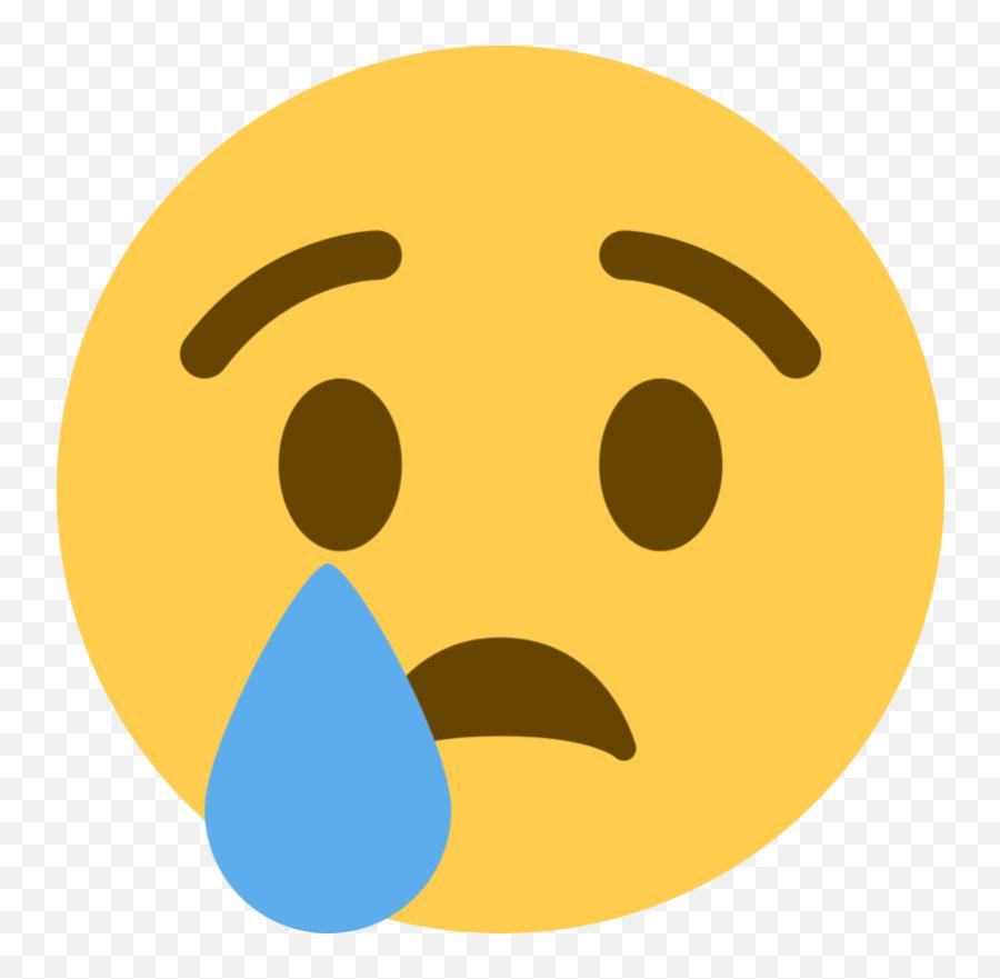 Death Sadness Facebook Crying Emoji - Facebook Cry Emoji Png,Whale Emoticon