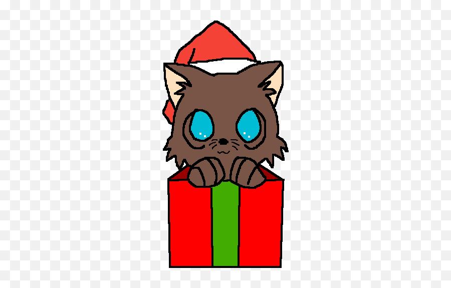 Pixilart - Christmas Cat Drawing Emoji,Crying Cat Emoji