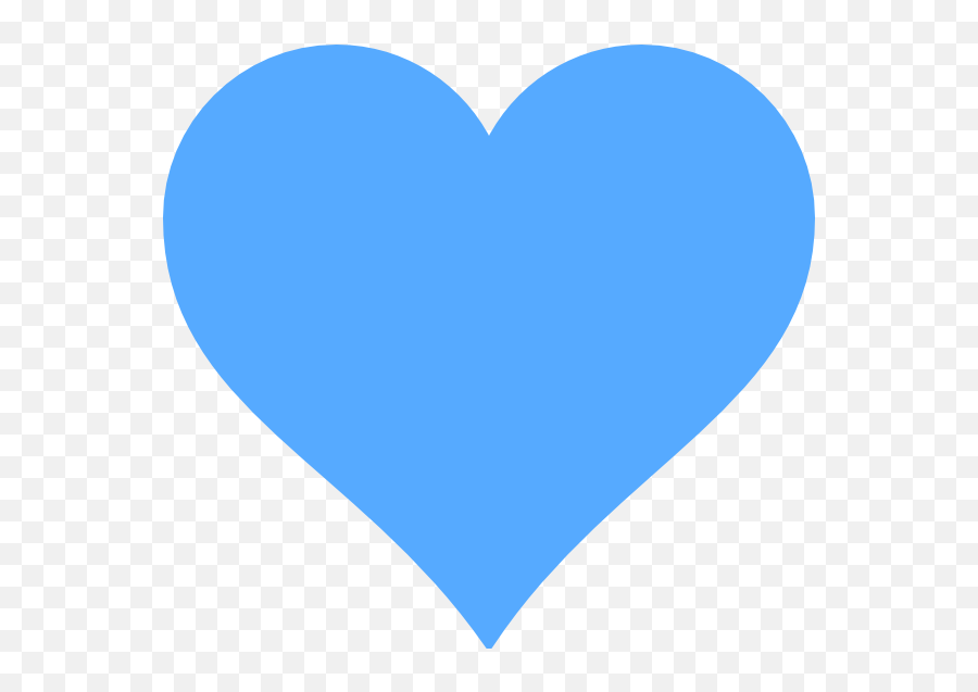 Blue Heart Logo - Blue Heart Emoji