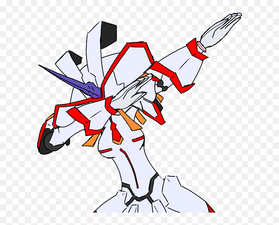 I Will Rival Him With Four High Quality - Zero Two Dabbing Emoji