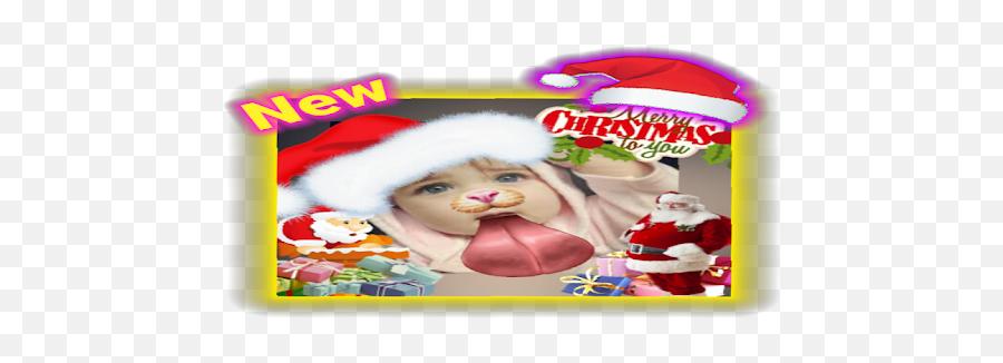 Funny Photo Editor - Christmas Emoji