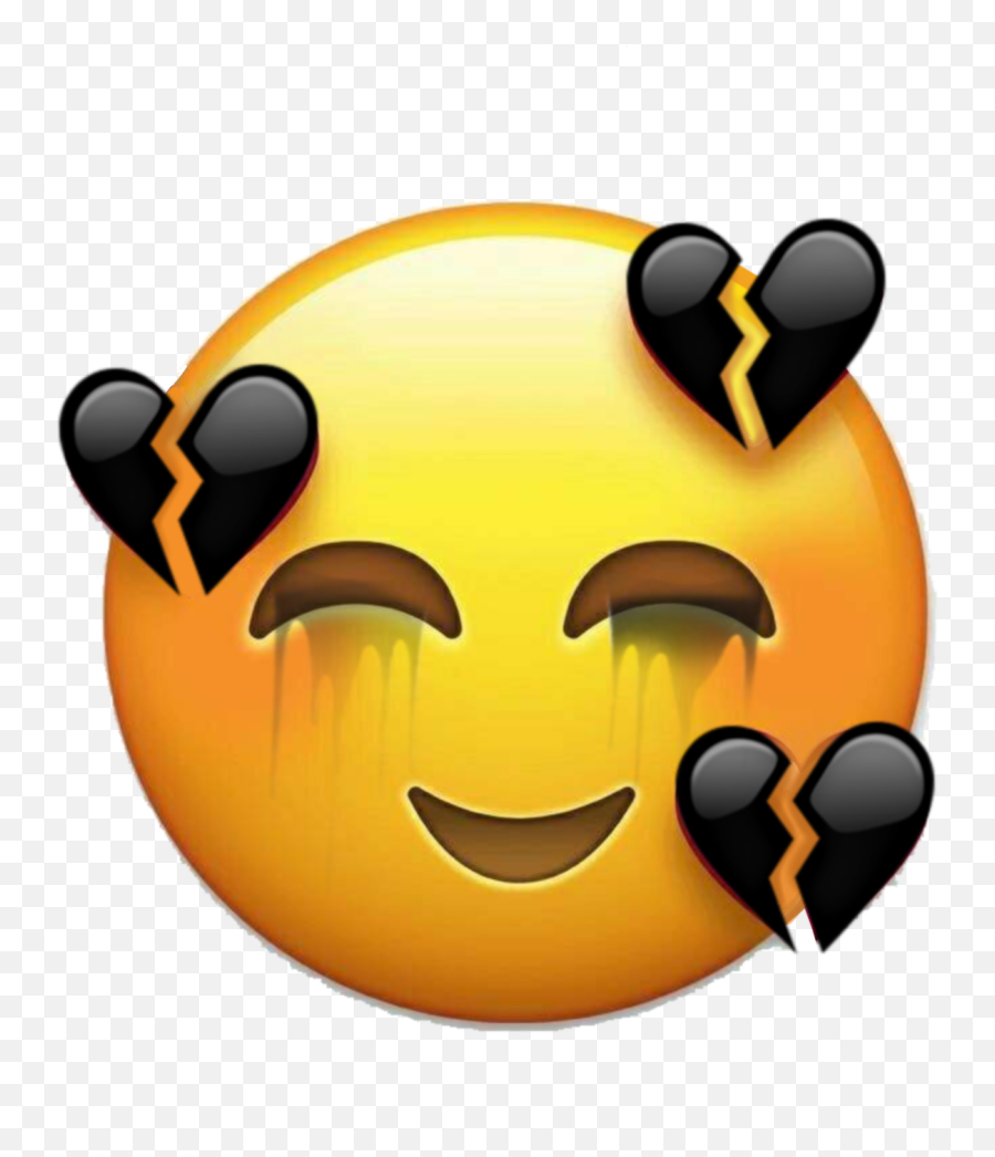 Emojisticker Brokenheart - Imagenes De Emojis Sad
